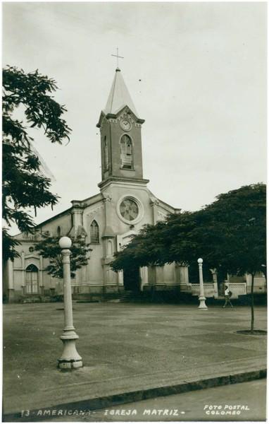 Basílica de Santo Antônio de Pádua : Americana, SP - [19--]