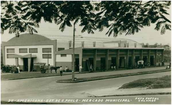Mercado Municipal : Americana, SP - [19--]