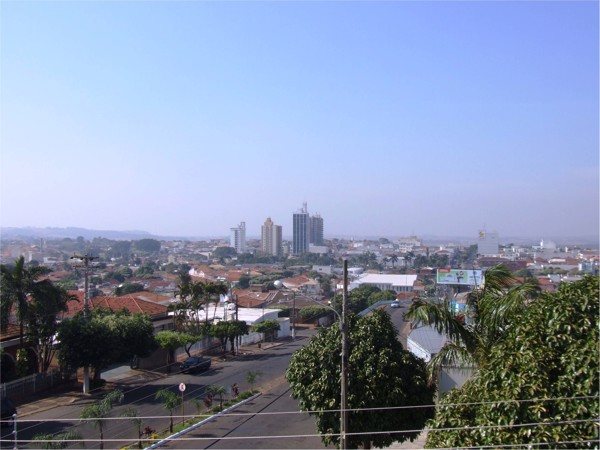[Vista panorâmica da cidade] : Jales, SP - 2010