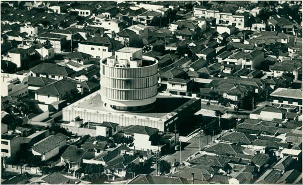 [Vista aérea da cidade] : Hospital Infantil Márcia Braido : São Caetano do Sul, SP - 1983