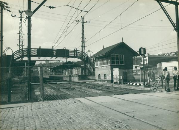 Estação Ferroviária : Franco da Rocha (SP) - [19--]